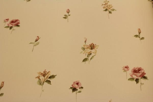 Vinyltapete Pretty Prints by Jorden, Norwall Nr. 12594 Landhaus Blumen