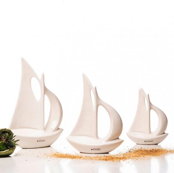 Boot Lavio creme von Tiziano