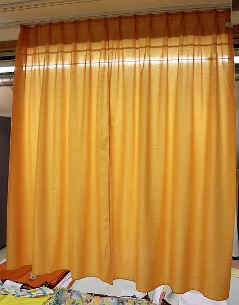 Gardine Vorhang orange Maße (BxH) 180x197 cm