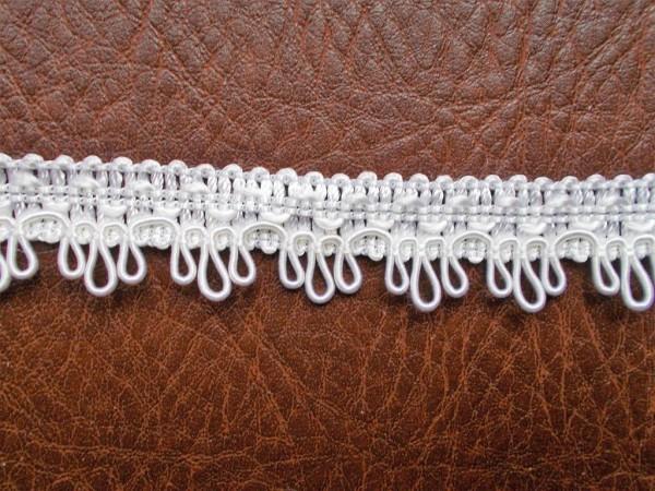 Spitze H: 2 cm weiß