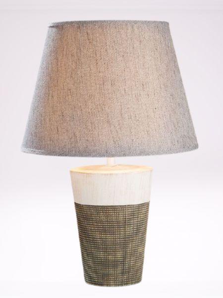 GILDE Keramik Lampe Marmoria Art. 31088