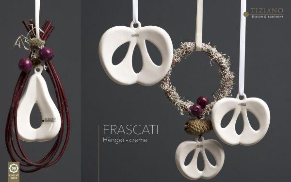 Tiziano Hänger Frascati 2er Set Apfel/Birne creme