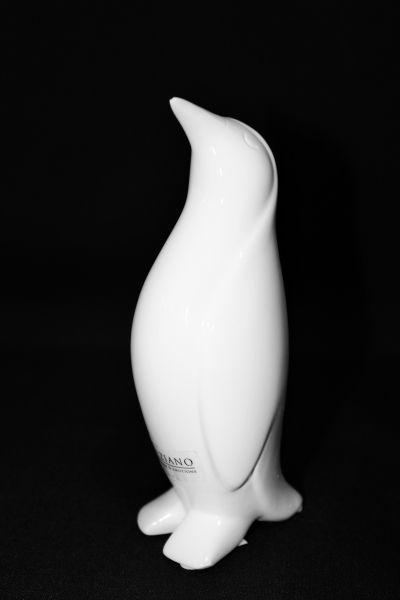 Pinguin Tizio Kopf hoch creme von Tiziano