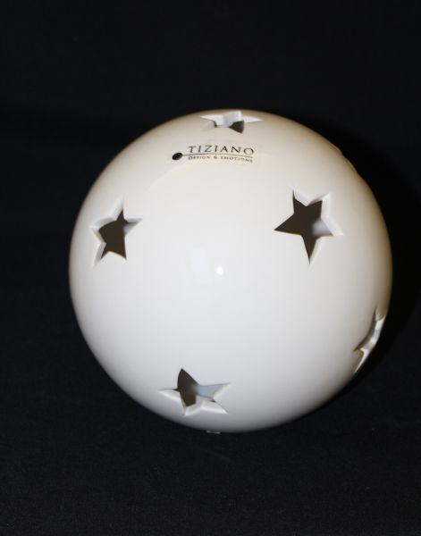 Lichtkugel Celia LED creme von Tiziano